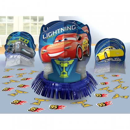 Disney Pixar Cars 3 Table Decorating Kit