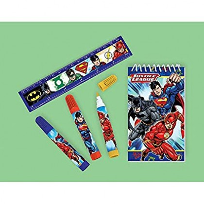 Justice League™ Stationery Set Favor