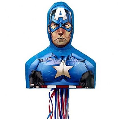 Marvel Epic Avengers Captain America Premium Licensed 3-D Pull Piñata