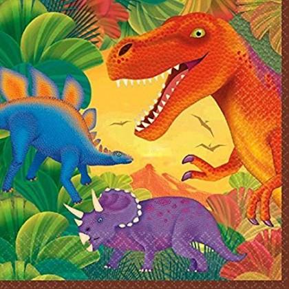 Prehistoric Party Luncheon Napkins