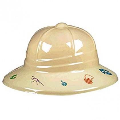 Prehistoric Party Pith Helmet - Plastic