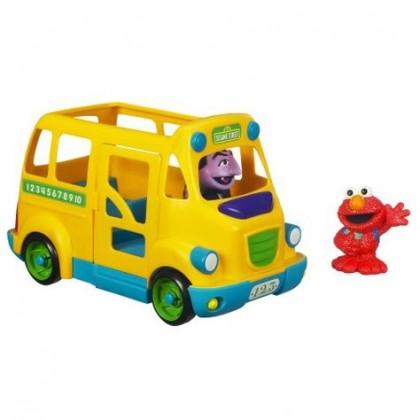 Sesame Street Bus Step Above
