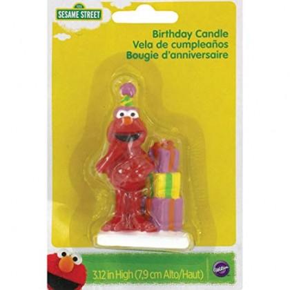 Sesame Street Elmo Candle