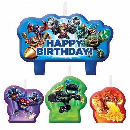 Skylanders™ Birthday Candle Set