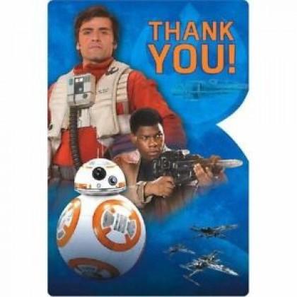 Star Wars™ Episode VII Postcard Thank You Cards