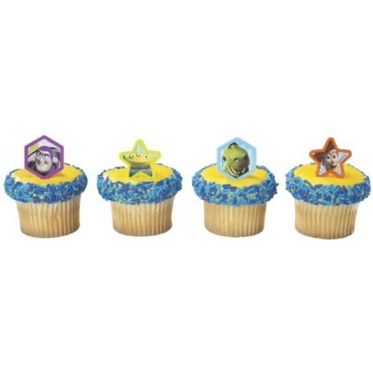 Toy Story 3 Buzz & Woody Cupcake Ring
