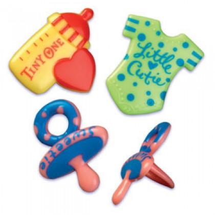 Baby Symbols Molded Rings (3 Styles)