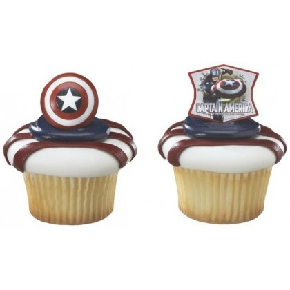 Captain America And Sheid Ring