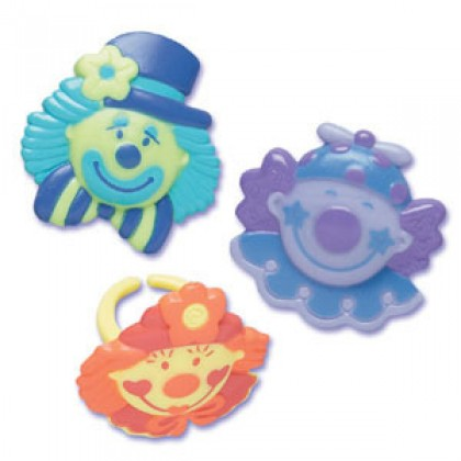 Clowns Molded Rings