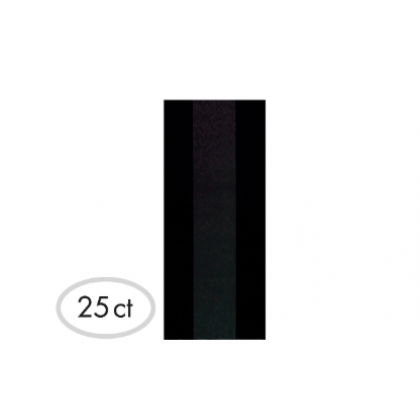 """11 1/2""""H x 5""""W x 3 1/4""""D Cello Party Bags BLACK (Large)"""