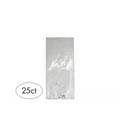 """11 1/2""""H x 5""""W x 3 1/4""""D Cello Party Bags CLEAR (Large)"""