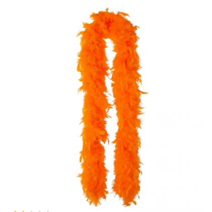 "72"" Boas Orange"