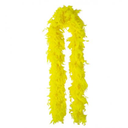 """72"""" Boas Yellow"""