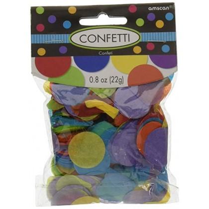 0.8 oz Tissue Paper Confetti - Rainbow