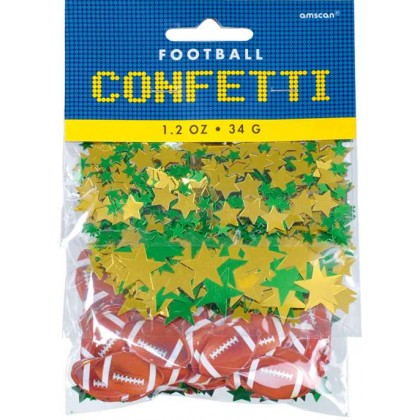 1.2 oz. Football Confetti Value Pack