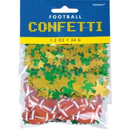 1.2 oz. Football Confetti Value Pack