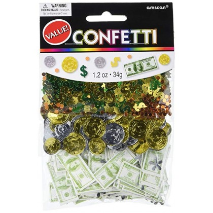 1.2 oz. Money Money Value Pack Confetti Mixes
