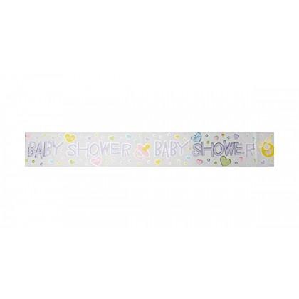 12' Baby Shower Foil Banner
