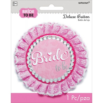 Elegant Bride Deluxe Button