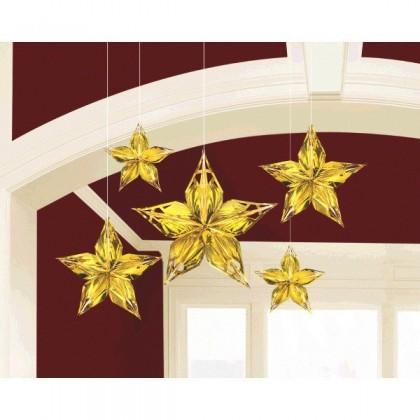 Glitz & Glam Metallic Star Decoration