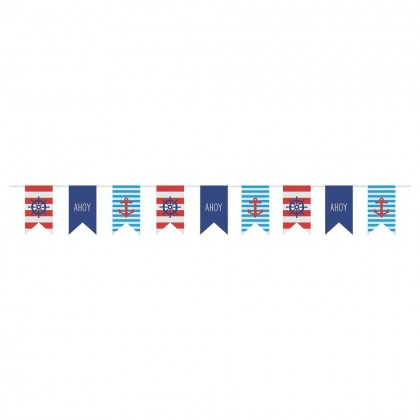 Nautical Banner - Canvas 9'x7 1/4""