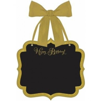 Premium Gold Birthday Large Marquee Sign