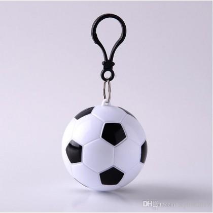 Soccer Refresh Keychain Poncho Holder Favor