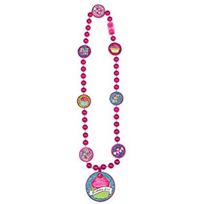 Sweet Party Party Bead Necklace - Plastic
