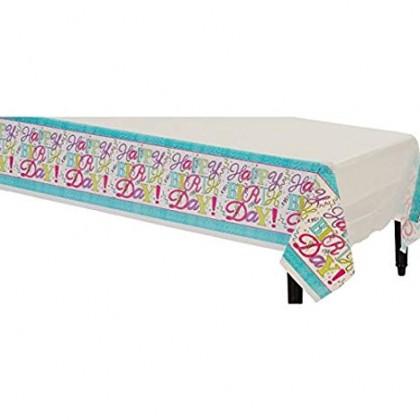 Sweet Party Plastic Table Cover