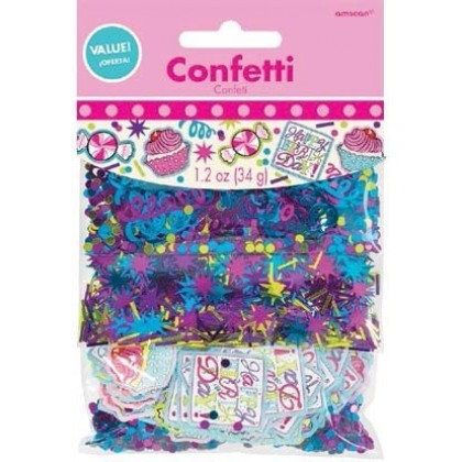 Sweet Party Value Pack Confetti - Foil & Paper