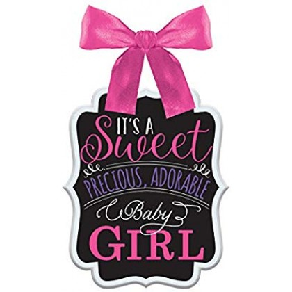 Baby Shower Sign - Girl