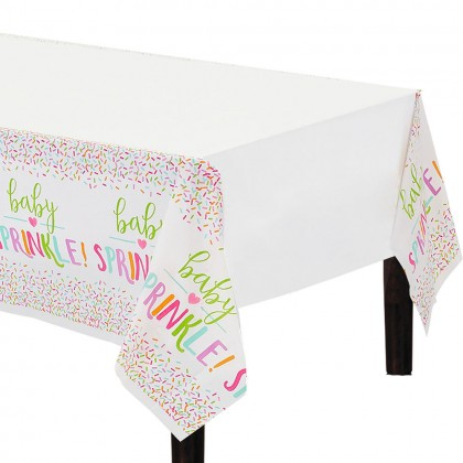 Baby Sprinkle Plastic Table Cover