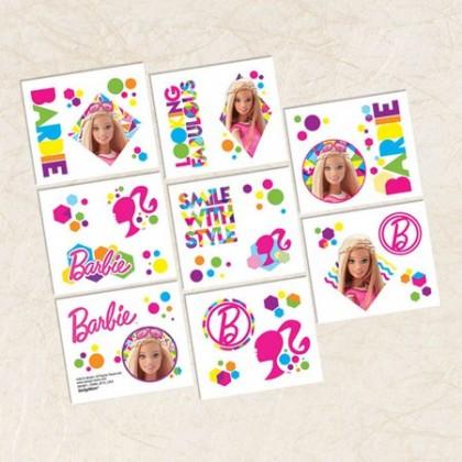 Barbie Sparkle Tattoo Favors