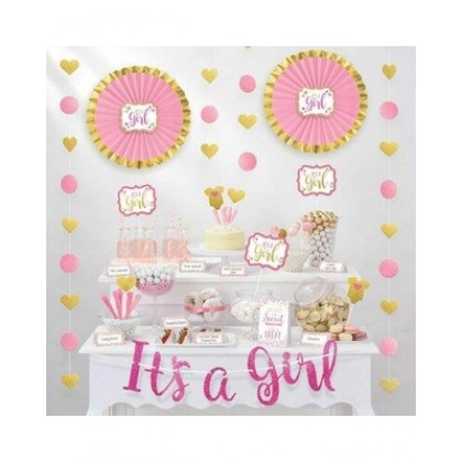 Candy Buffet Decorating Kit - Girl