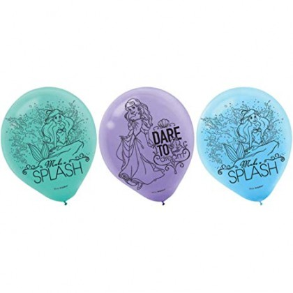 ©Disney Ariel Dream Big Latex Balloons