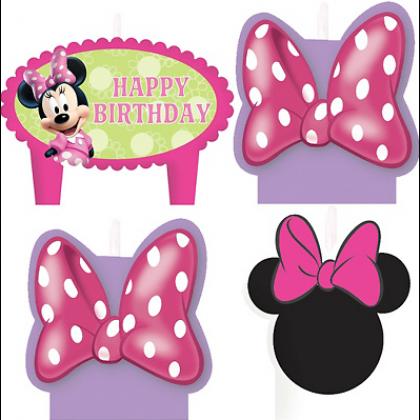 ©Disney Minnie Mouse Birthday Candle Set