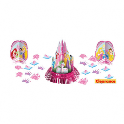 Disney© Princess 1st Birthday Value Table Decorating Kit
