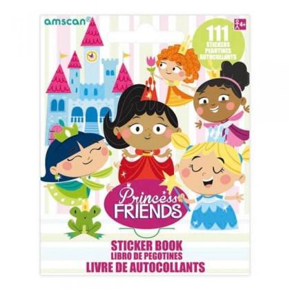 Sticker Booklets Princess Friends