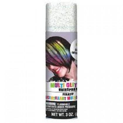 3 oz. Hair Spray Multicolor Gliter
