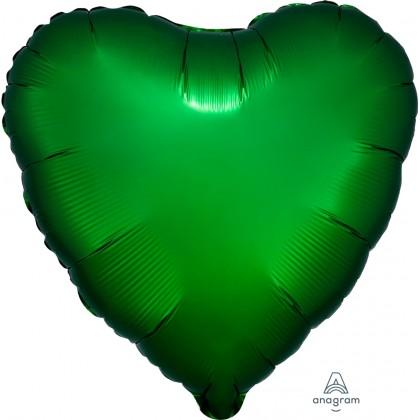 """S15 17"""" Emerald Green Standard Heart XL®"""