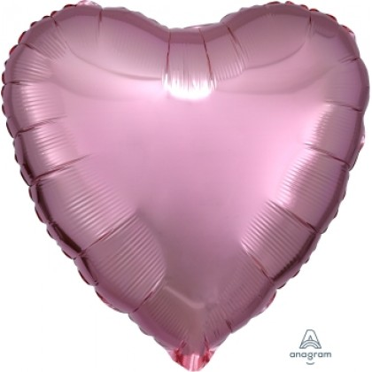 "S15 17"" Rose Gold Decorator Standard Heart HX®"