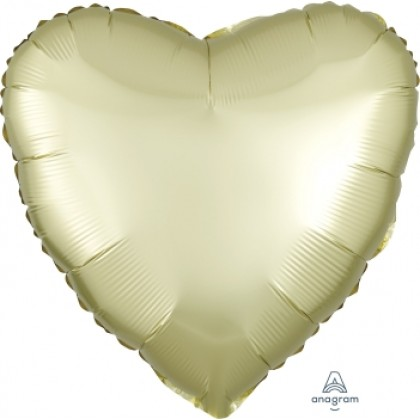 "S15 17"" Satin Luxe™ Pastel Yellow Standard Heart HX®"