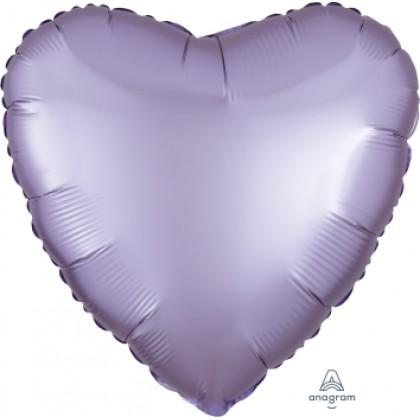 "S15 17"" Satin Luxe™ Pastel Lilac Standard Heart HX®"
