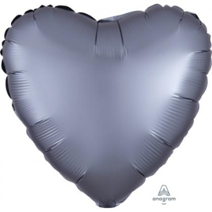 """S15 17"""" Satin Luxe™ Graphite Standard Heart HX®"""