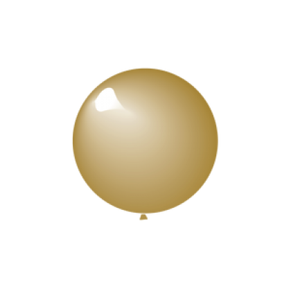 "KDI 5"" MET Gold Round - F"