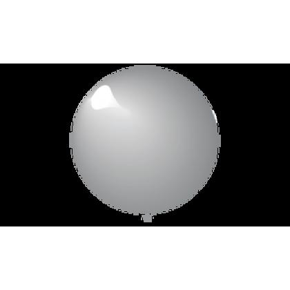"KDI 5"" MET Silver Round - F"