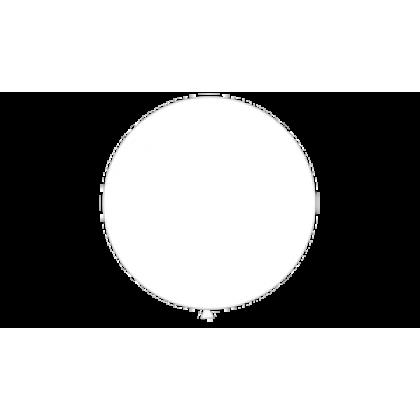 "KDI 5"" STD White Round - F"