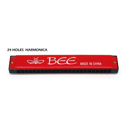 24 Holes Harmonica