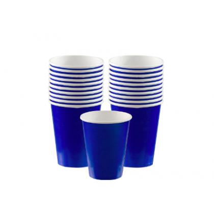 Bright Royal Blue Cups, 9 oz., Paper