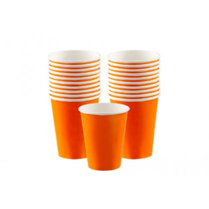 Orange Peel Cups, 9oz. - Paper